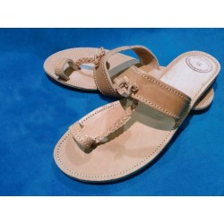 Handmade leather sandal