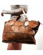 Leather tote, women's bags, fashion, leather, Handmade in greece