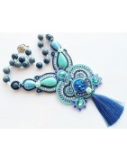 Buy Soutache jewelry ,unique creations for a woman with style